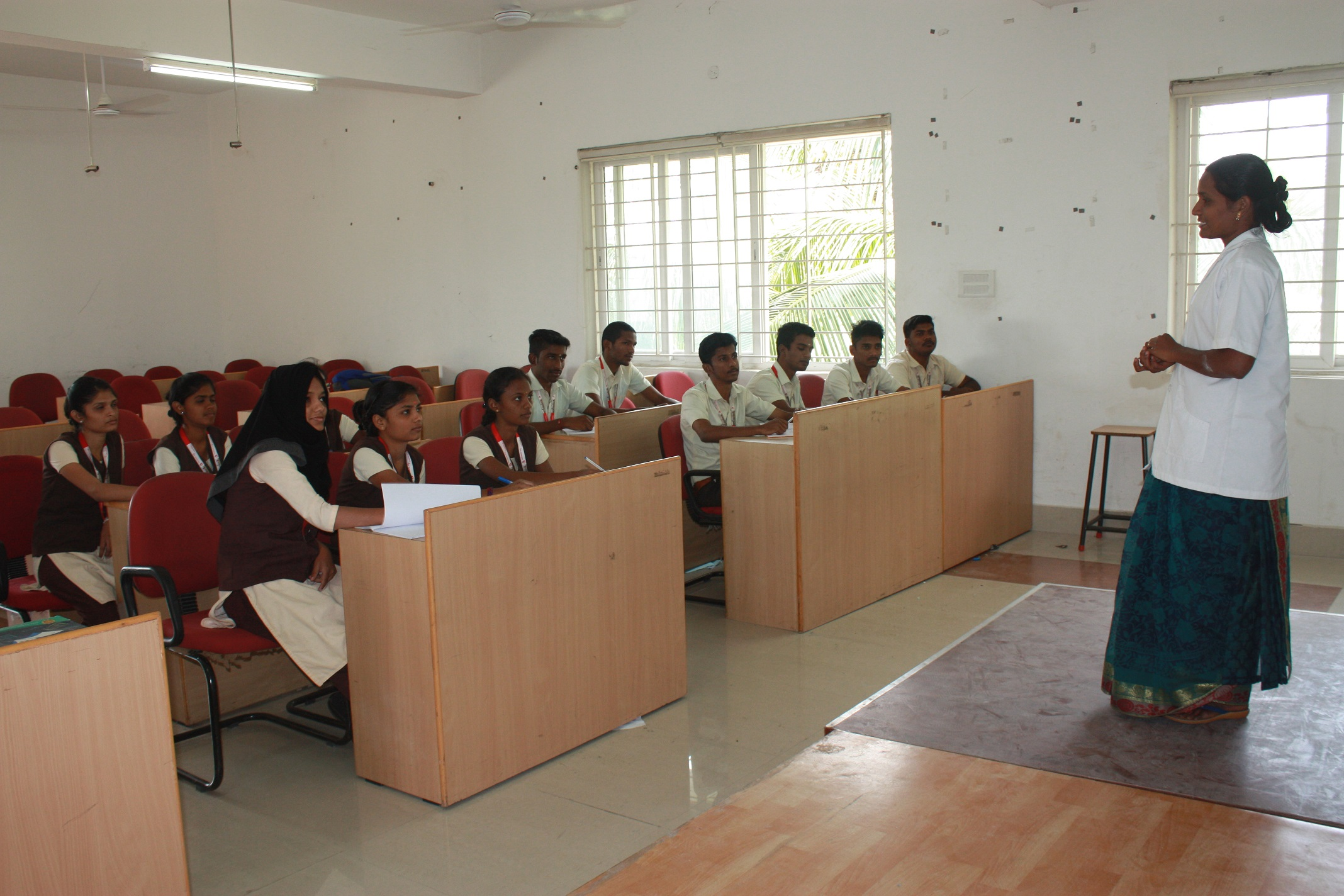 Operation Theatre class room shanmugha college