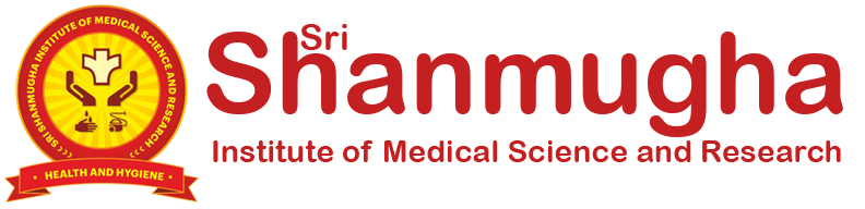 Shanmugha medical science logo